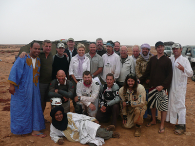 Loclas with the Sahara Expedition