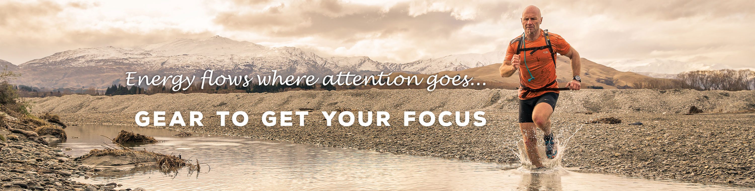 Energy Flows where attention goes - Gear to get your focus